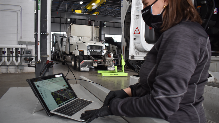 Vision Truck Group's use of advanced service management technology dates back to 2009 when it began using the Volvo Trucks and Mack Trucks ASIST web-based service management system in its service departments.
