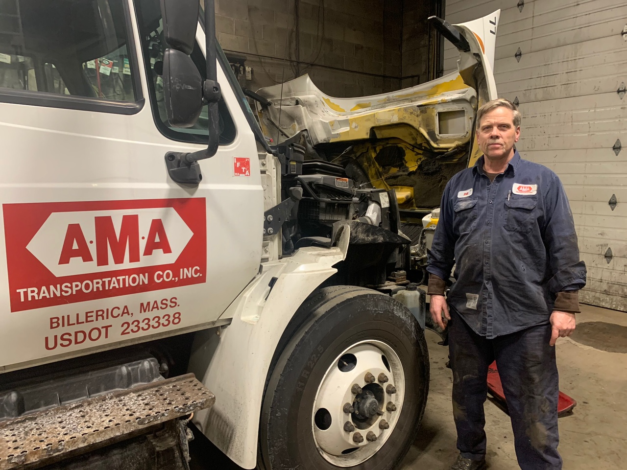 Bill Loyd, fleet manager for AMA Transportation, brings decades of experience and a passion for getting the job done correctly as well.
