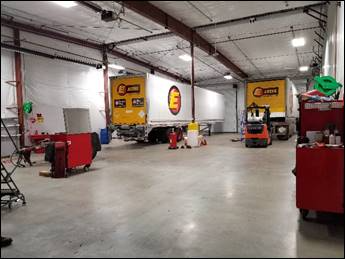 Diagnostic tools in use across all Estes shops include truck and engine manufacturer and Noregon JPRO software to read fault codes and provide component information.